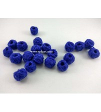 COTTON THREADED BEADS BLUE ONE PIECE
